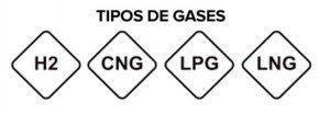 nuevas etiquetas gas